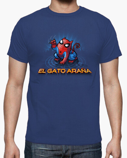 El gato araña camiseta