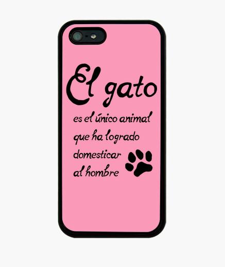 Funda iPhone El gato domesticador