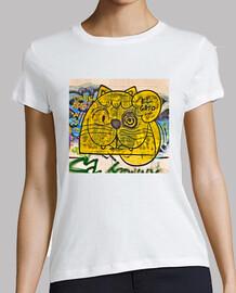 El Gato Grafiti - Camiseta Mujer
