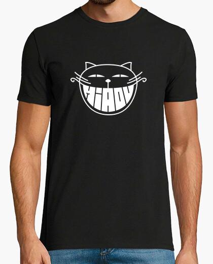 Camiseta el gato sonriente