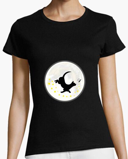 Camiseta El gato y la luciérnaga, the cat and the firefly