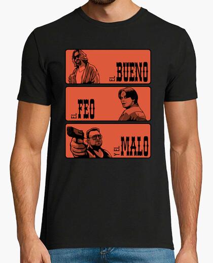 Camiseta El gran Lebowski, el feo y el malo
