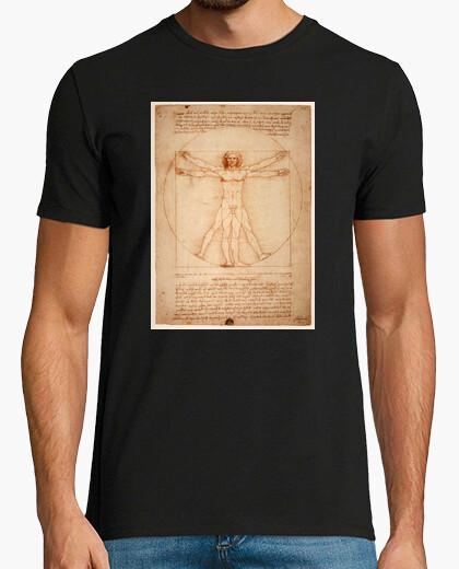 Camiseta El Hombre de Vitruvio, Leonardo Da Vinci