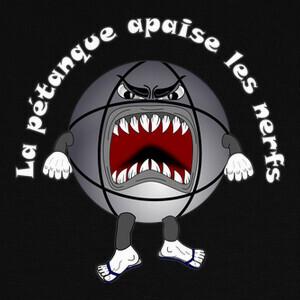 el humor de petanca calma los nervios T-shirts