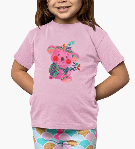 Ropa infantil el koala de color rosa