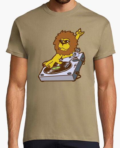 Camiseta el león dj de