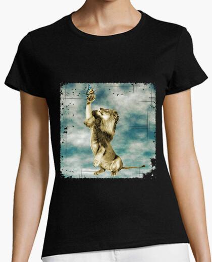 Camiseta el león y la mariposa