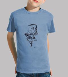 el maestro de la luna - camiseta infantil