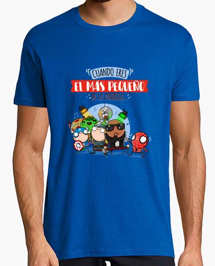Camiseta El más pequeño de la pandilla