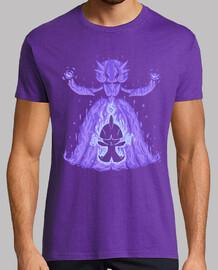 el mega bailarín psíquico dentro - camisa para hombre
