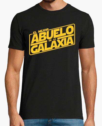 Camiseta El mejor abuelo de la galaxia