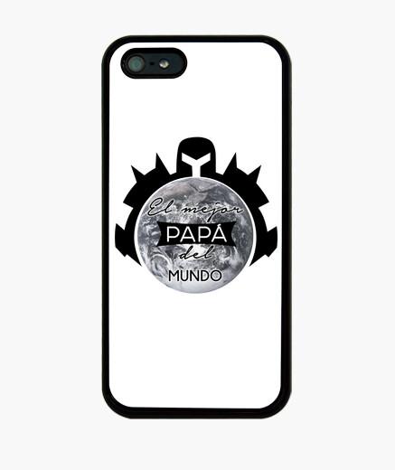 3a92c04a863 El mejor padre del mundo Funda iPhone 5 / 5s, negra - nº 1328099 ...