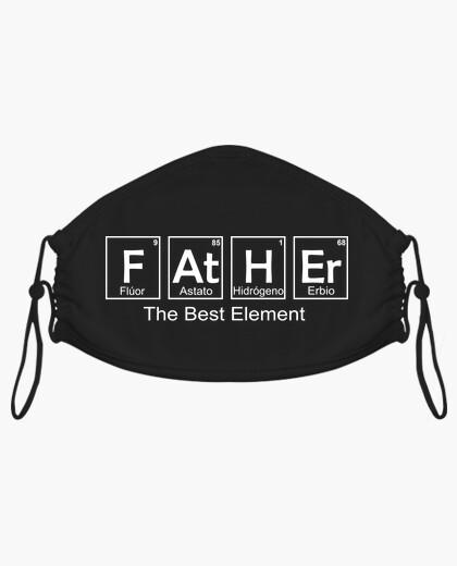 Mascarilla El Mejor Padre que se a Creado