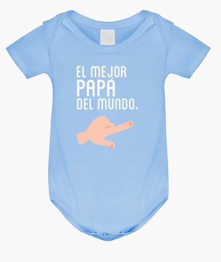 Ropa infantil El mejor Papá del Mundo (Adulto) Dúo