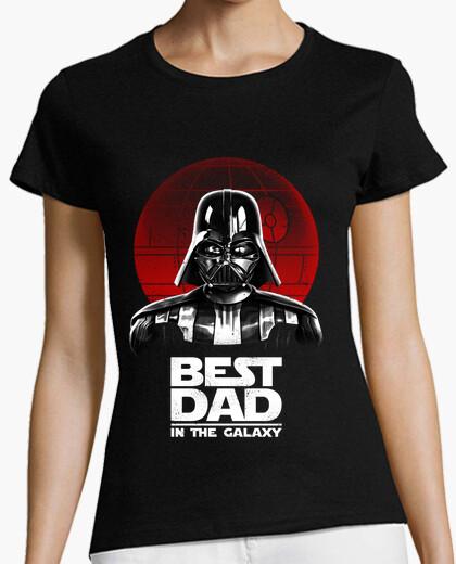 Camiseta el mejor papá en la galaxia