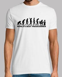 el mejor programador del mundo de la evolución