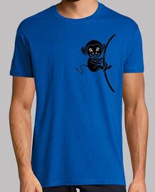El mono colgado