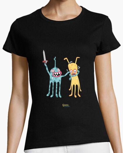 Camiseta el monstruo feliz