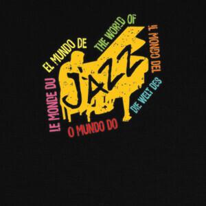 T-shirt el mundo del jazz