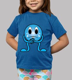 El muñequito azul