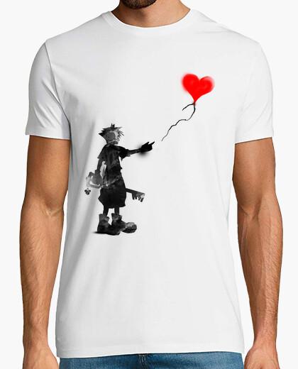 Camiseta el niño, la clave, el globo
