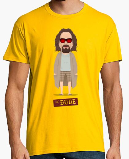 Camiseta El nota - El Gran Lebowski - Albornoz marrón
