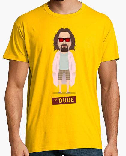 Camiseta El nota - El Gran Lebowski - Albornoz rosa