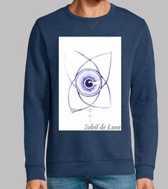 el ojo en flor