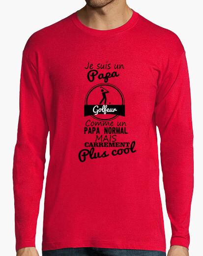 Camiseta el papá más fresco del golfista