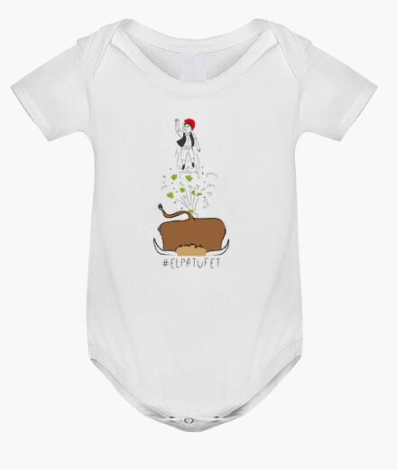 Ropa infantil El Patufet - Body nadó amb pigments ecològics