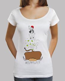 El Patufet - Samarreta de noia, amb coll ample i Loose Fit (gran venta