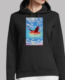 el pez volador y las gotas dibujadas, wat