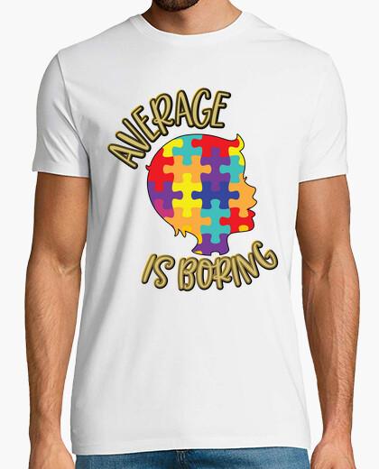 Camiseta el promedio es aburrido...