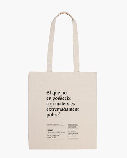 Bolsa El que no es posseeix (tote bag)