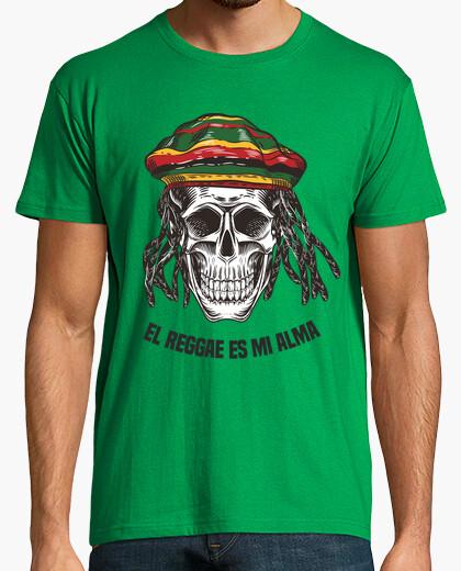 Camiseta El Reggae Es Mi Alma