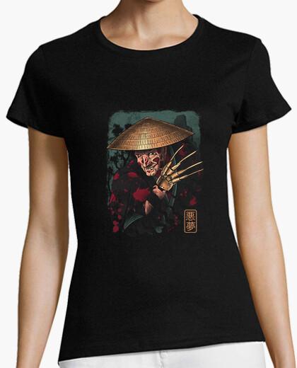 Camiseta el samurai soñador camisa para mujer