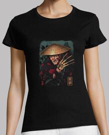 el samurai soñador camisa para mujer