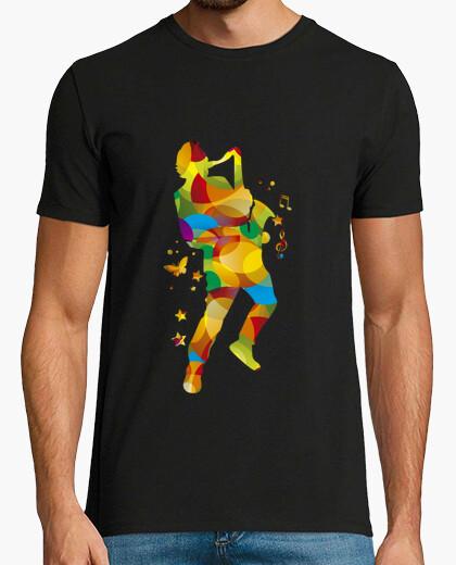 Camiseta El saxofonista