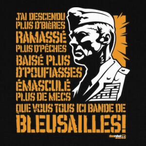 Tee-shirts el señor de la guerra