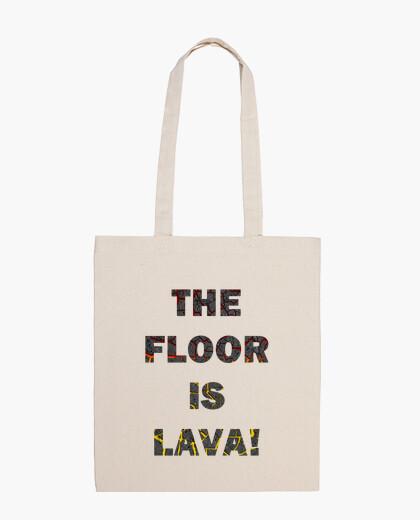 El suelo es lava Bolsa