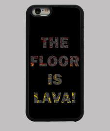 El suelo es lava funda