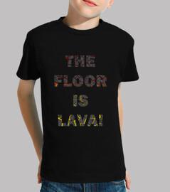 El suelo es lava Peque