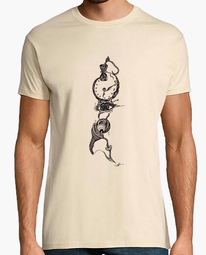 Camiseta el tiempo pasa camisa de hombre