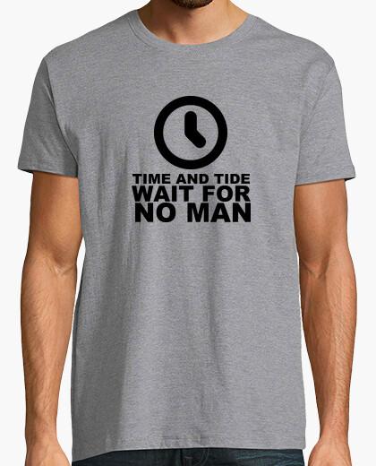 Camiseta EL TIEMPO Y LA MAREA NO ESPERA AL HOMBRE