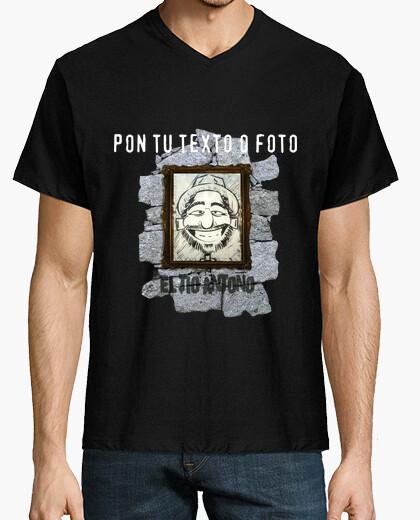 Camiseta El Tío Antoño 2015 cuello pico