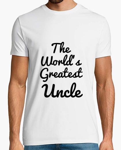 Camiseta el tío más grande / tío del mundo