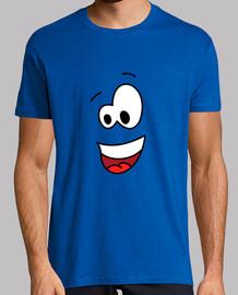 el tomado bien - el hombre, de manga corta de color amarillo.