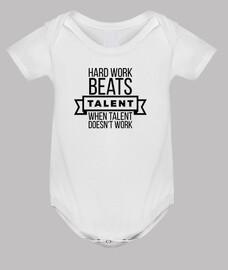 el trabajo duro supera al talento