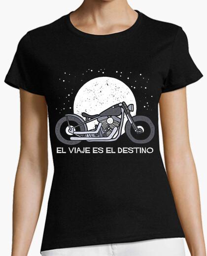 Camiseta El viaje es el destino