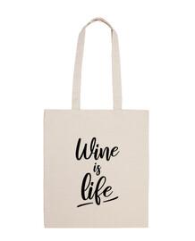 el vino es vida